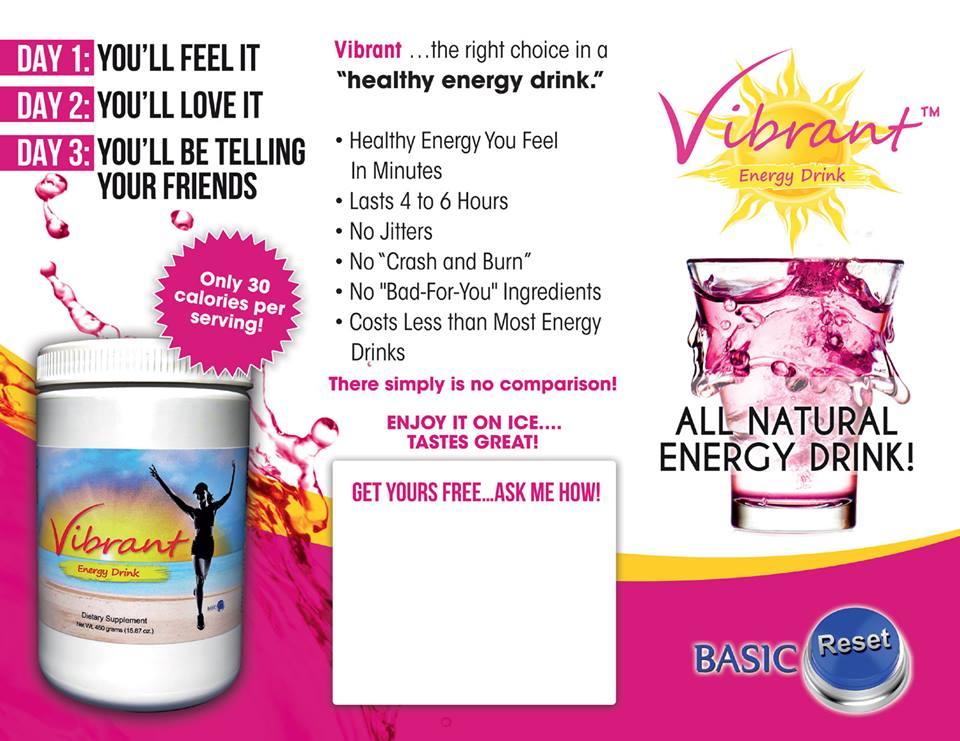 Vibrant Energy Drink